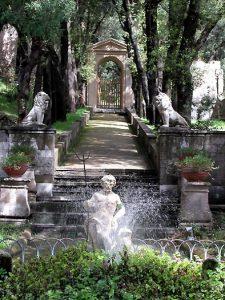 Fontana di Villa Calvanese